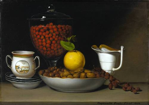 Still Life - Strawberries, Nuts, 1822