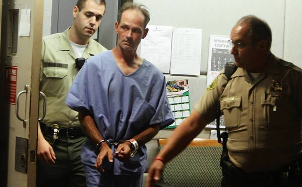 Nathan Campbell is arraigned Aug. 6. Campbell has been accused of intentionally driving his car into a crowd of people on the Venice boardwalk, killing one person and injuring others.
