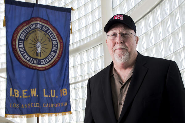 Brian D'Arcy, business manager for Local 18, an affiliate of the International Brotherhood of Electrical Workers (IBEW).
