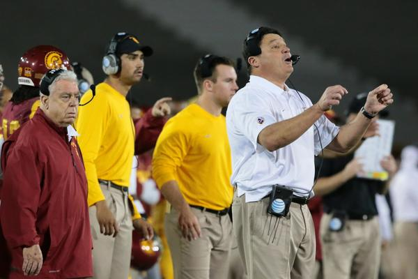 The support continues to gorw to have the interim removed from Ed Orgeron's coaching status at USC.