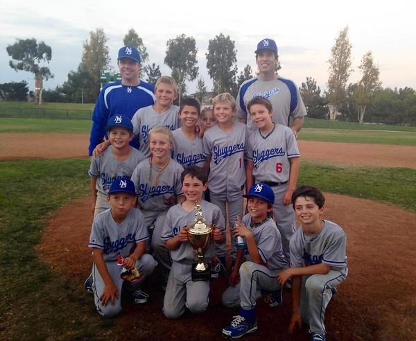 The Newport Beach Sluggers, a 10-and-under travel baseball team, won the second annual Newport Cup.