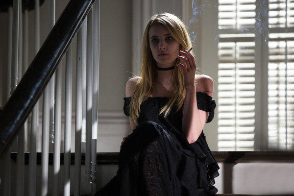 "Emma Roberts as Madison on ""American Horror Story: Coven."""