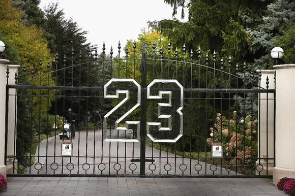 Michael Jordan's Highland Park home