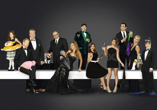 "The cast of ""Modern Family."""