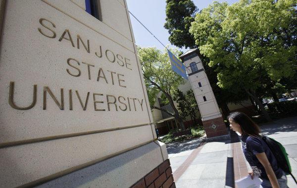 San Jose State University in 2009.