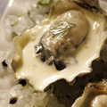Oysters roasted with fennel and cream