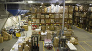 Pictures: Warehouse prepares for Cyber Monday