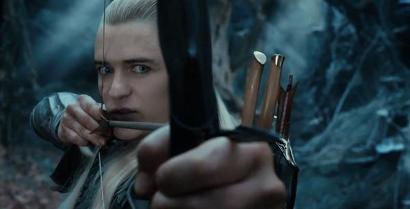"Orlando Bloom in a scene from the upcoming ""The Hobbit: The Desolation of Smaug,"" based on J.R.R. Tolkien's classic novel."