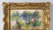 Hearing set to determine ownership of stolen Renoir