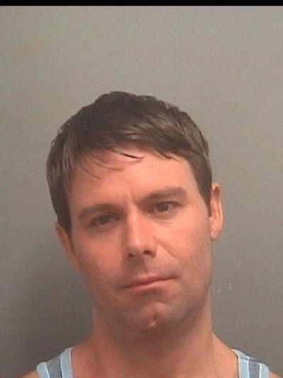 Daniel Strang, 38, of Jupiter, is accused causing a scene while drunk at a mall in Boca Raton, then making death threats against an officer and his family after being arrested.