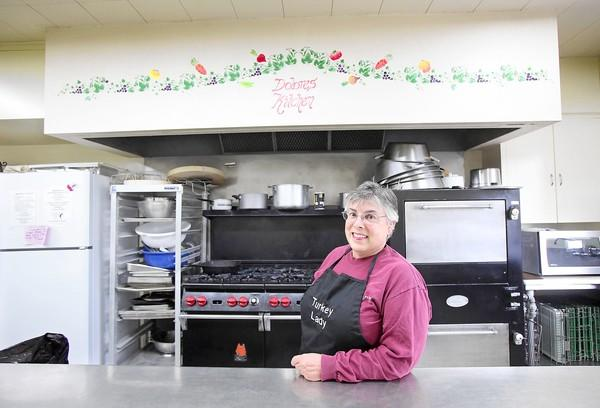 Laguna Beach resident Mary LaRusso has helped cook turkeys for the Friendship Shelter's annual Thanksgiving Day meal at the Neighborhood Congregational Church.