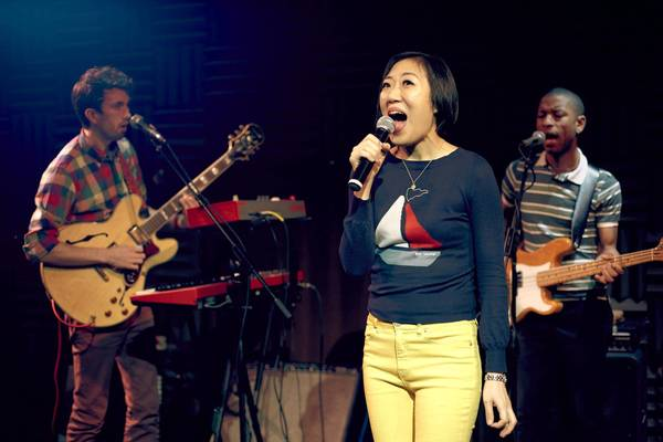 "Young Jean Lee performs ""We're Gonna Die"" with her band Future Wife."