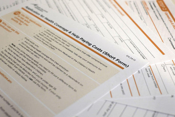 The short form for the new federal healthcare program is shown.