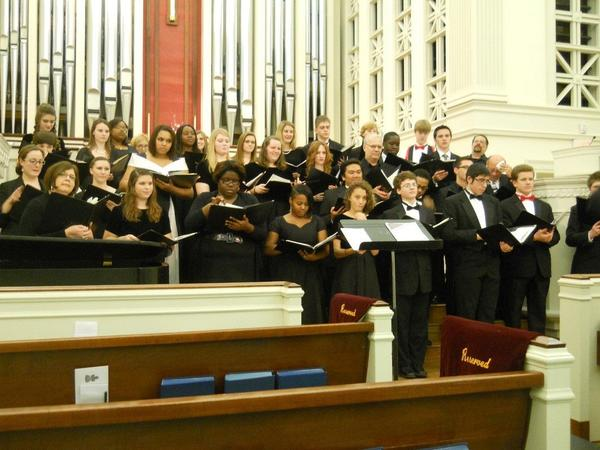 On Dec. 6, 2013, the Virginia Chorale presents ¿A Season of Joy,¿ works by Ferko, Dixon and Paulus at Trinity Lutheran Church, Newport News.