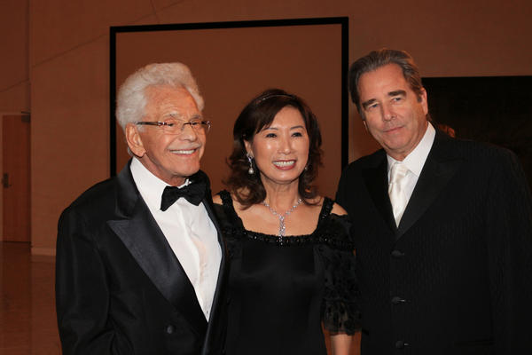 Honorees Randall and Suki McCardle (Citizens of the Year Award) and actor Beau Bridges (Lifetime Achievement in the Arts Award).