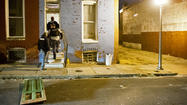Baltimore police raid East Baltimore homes