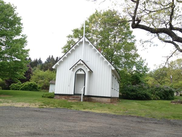 A donation from the owner of a local McDonald's restaurant is helping fund the restoration of the old Pine Grove Schoolhouse in Avon.