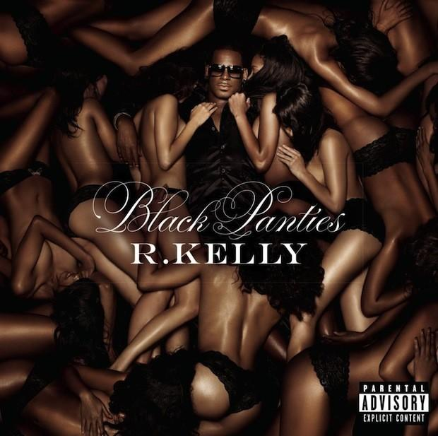 "R. Kelly's ""Black Panties"" deluxe album cover."