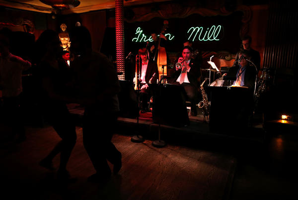 Fat Babies perform at the Green Mill in Chicago.