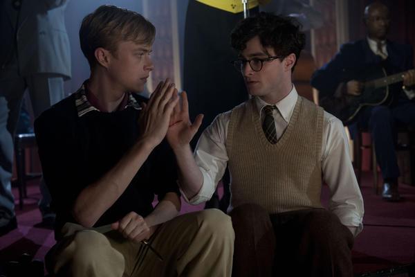 "Dane DeHaan, left, and Daniel Radcliffe in ""Kill Your Darlings."""
