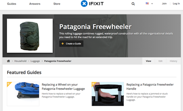 Patagonia and iFixit paired to create free repair tutorials for products in an effort to encourage consumers to consider the environmental effects of their purchases.