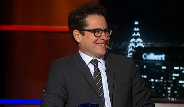 "J.J. Abrams appears on ""The Colbert Report."""