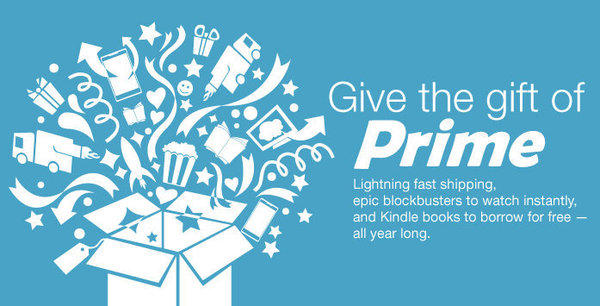 Amazon.com is now letting users send each other Amazon Prime memberships as gifts, just in time for the holiday season.