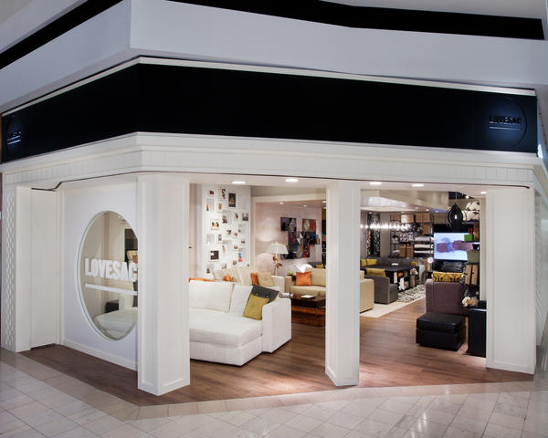 Lovesac, a modular furniture store, has opened a store at Towson Town Center.