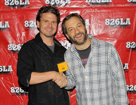 Dave Eggers and Judd Apatow