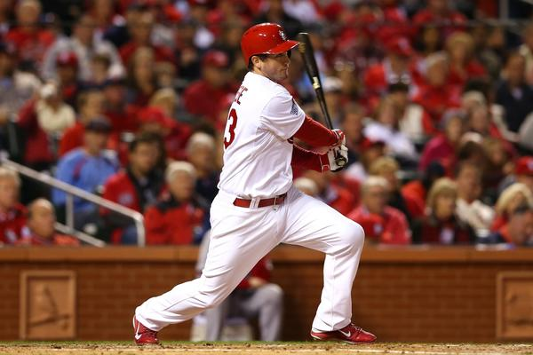 The acquisition of David Freese from the Cardinals fills a need at third base for the Angels.