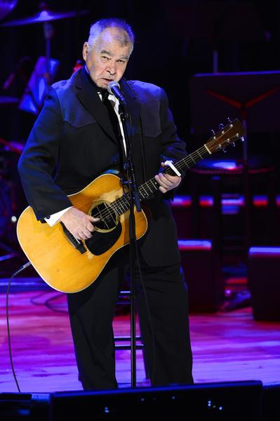 John Prine performs at Country Music Hall of Fame and Museum in Nashville, Tennessee.