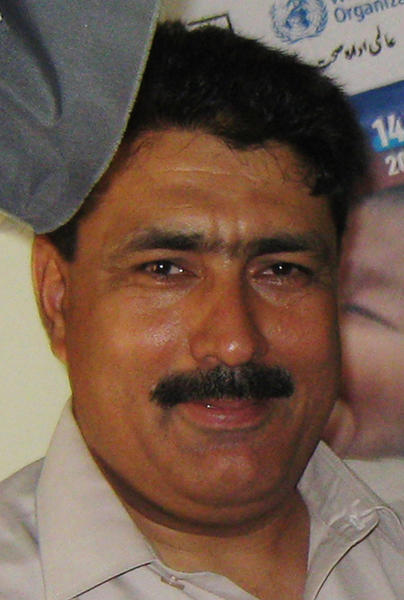 In this July 9, 2010, file photo, Pakistani doctor Shakil Afridi is photographed in Pakistan's tribal area of Jamrud in the Khyber region.