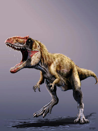Tyrannosaur rival S. meekororum ruled the western U.S. in the late Cretaceous