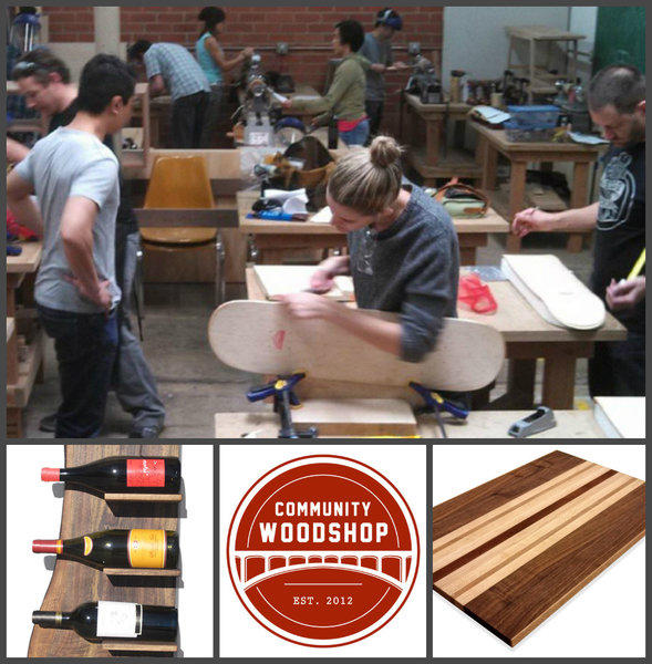 community woodworking shop