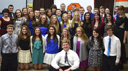 Shepard hosts National Honor Society induction