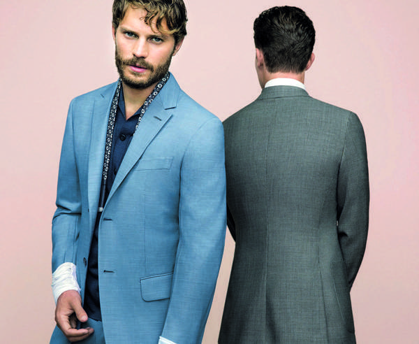 Looks from the Ermenegildo Zegna Couture collection feature actor Jamie Dornan as the new face of the men's label.