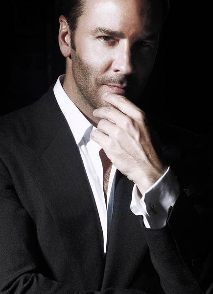 Designer Tom Ford introduces a men's skin care and grooming line, and uses his own youthful looks as a testament.