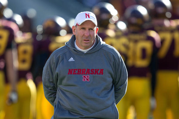 Nebraska coach Bo Pelini.