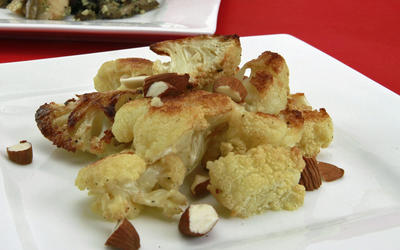Craft's roasted cauliflower