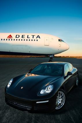 "Delta Airlines is using Porsches to help ""high-value"" passengers catch connecting flights."