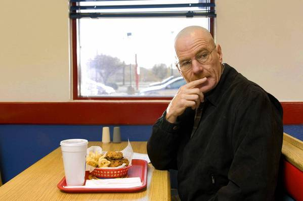 """Breaking Bad"" stars Bryan Cranston as a meth whiz."