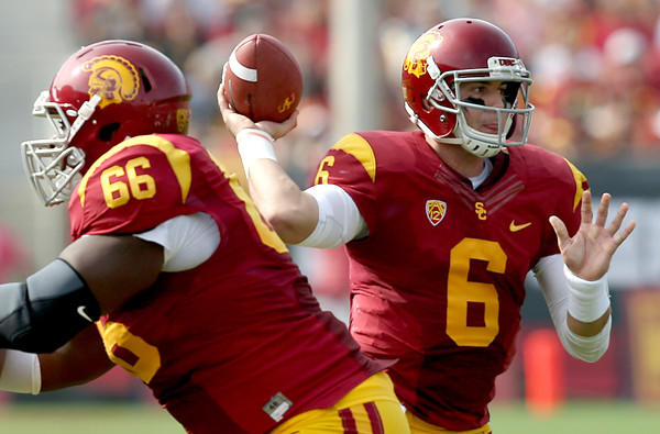 USC quarterback Cody Kessler could be less of a factor against Colorado on Saturday in the cold weather when the Trojans play at Colorado.