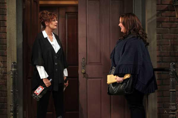 "Molly (Melissa McCarthy) meets her writing idol (Susan Sarandon) on a new episode of ""Mike & Molly"" on CBS."
