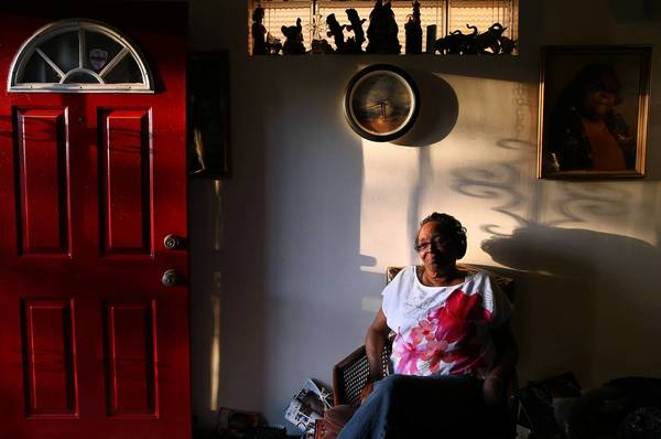 """People know there is a gang problem in the neighborhood,"" says Bernice Mack, 67, in her longtime home in Pill Hill. "" We know what to do, but nobody is out there doing anything."""