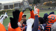 Douglass football toughs out double-OT win over Edmondson in region final