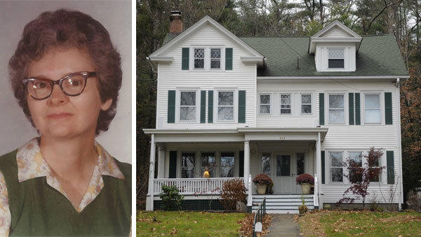 Kathleen Magowan lived in a house on Hopmeadow Street in Simsbury while she amassed an estate worth $6 million.