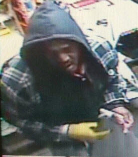 Anne Arundel County Police released this photo of a man suspected in the burglary of a gas station Saturday - one of five similar crime reported to either county of Annapolis city police.