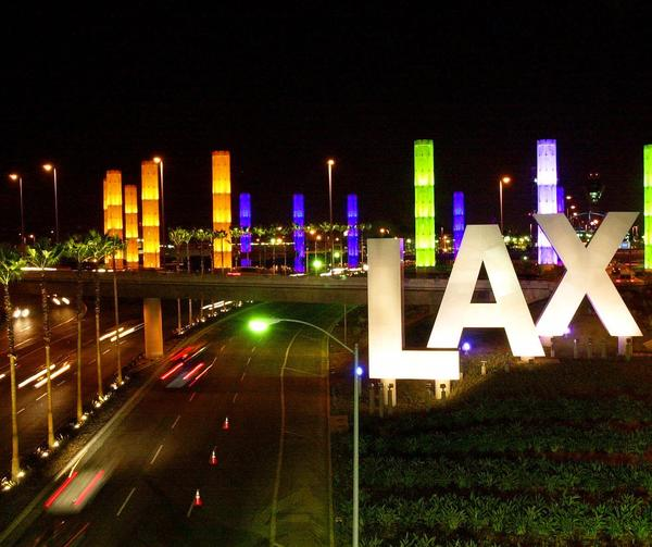 Operations were back to normal Saturday morning after a car crash caused a panic at Los Angeles International Airport.