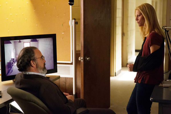 Mandy Patinkin and Claire Danes on 'Homeland'