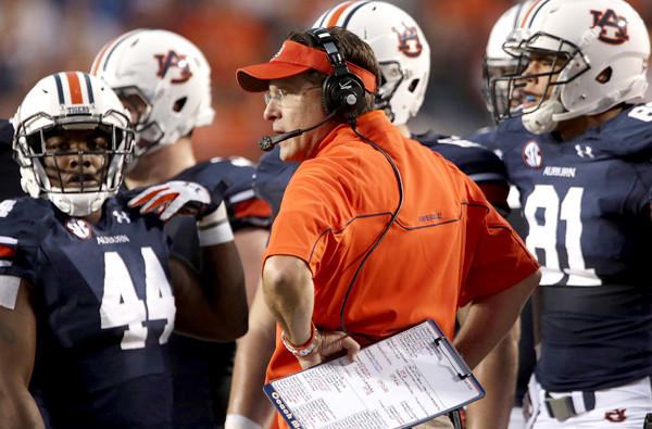 Coach Gus Malzahn and his one-loss Auburn team can put themselves into better BCS title-game position with a victory on Saturday against Alabama in their annual Iron Bowl game.